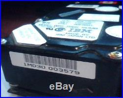 SCSI Hard Drive Disk 50-pin IBM WDS-3160S 95F7207 160MB 56F8851