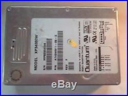 SCSI Hard Drive Quantum XP34300W AT43W011-05-G Rev F