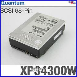 SCSI Wide HDD Quantum XP34300W AT43W011 Hard Drive 3 1/2in 3.5 Disk 3400 MB
