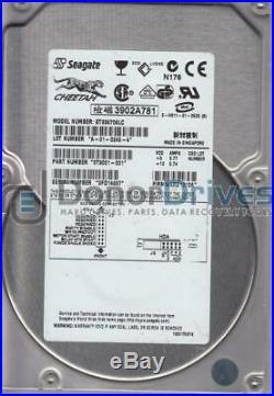ST336706LC, 3FD, PN 9T9001-001, FW 010A, Seagate 36.7GB SCSI 3.5 Hard Drive