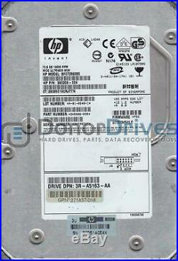 ST373454LC, 3KP, AMKSPR, PN 9X5006-030, FW HPB2, HP 73.4GB SCSI 3.5 Hard Drive