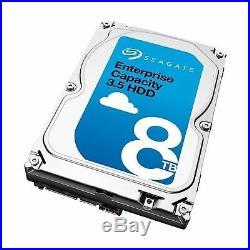 SeagateEnterprise Capacity HDD ST8000NM0075 8 TB Internal Hard Drive SCSI