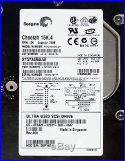 Seagate 15K RPM ST373454LW Ultra 320 SCSI Hard Drive 73GB