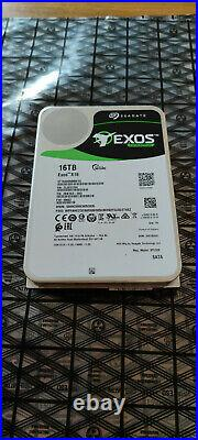 Seagate 16TB EXOS X16 Enterprise Internal SATA Hard Drive ST16000NM001G xxxx