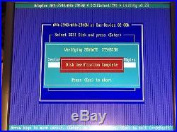 Seagate 50-pin SCSI hard drive ST34573N 4.2GB 7200 50PIN HP9J4001-030