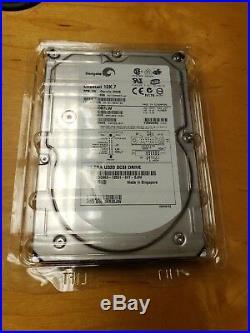 Seagate Cheetah 10K 300GB 3.5 ST3300007LW U320 SCSI 68-pin Hard Drive HDD