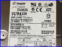 Seagate Cheetah Ultra320 U320 18GB SCSI 68-Pin Hard Drive HDD 8MB ST318453LW