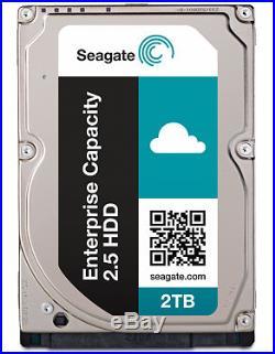 Seagate Constellation ST2000NX0343 2TB 7200 RPM 2.5 SCSI (SAS) Hard Drive