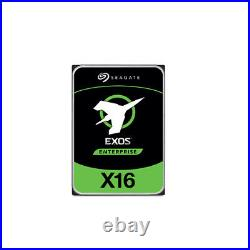 Seagate Enterprise Exos X16 3.5 10TB 7000RPM 512E SAS Internal Hard Drive