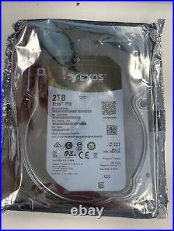 Seagate Exos 7E8 2TB SAS 12Gb/s 3.5 Hard Drive 7200RPM, 256MB Cache