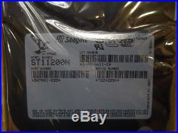 Seagate ST11200N 1GB 3.5 Internal Hard drive 50-pin SCSI 5400RPM