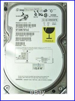 Seagate ST336737LC Barracuda 36Gb Ultra-160 7200Rpm 2Mb SCSI 3.5-Inch Hard Drive