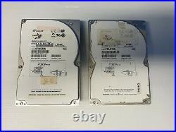 Seagate ST34573N 4GB 50-pin SCSI hard drive P/N 9J4001-010 Lot of 2