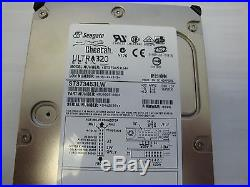 Seagate ST373453LW with 0006 Firmware 73GB SCSI Hard drive 15K RPM Pin missing