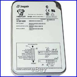 Seagate ST39140W Medalist Pro 9.1GB SCSI 68 PIN. 3.5 Internal Hard Drive