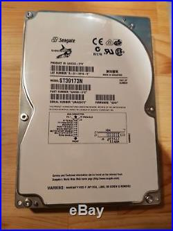 Seagate ST39173N, 9.1GB 7200RPM 50 Pin SCSI Internal Hard Drive for Kurzweil Keys