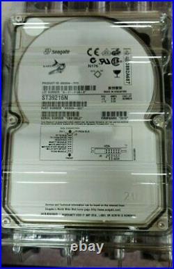 Seagate ST39216N Barracuda 9.2GB 7.2K 50-Pin 3.5 SCSI Hard Disk Drive NEW