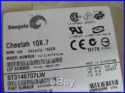 Seagate St3146707lw 146gb 68pin SCSI Hard Drive P/n9x2005-049 F/wd702