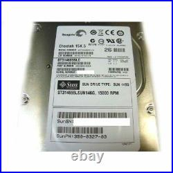 Sun 540-6607 XRA-SC1NB-146G15K 146G 15K NEBS SCSI Hard Drive with Spud Bracket