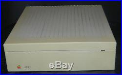 Vintage Genuine Apple Macintosh 1987 40sc Disk Drive With SCSI Connections