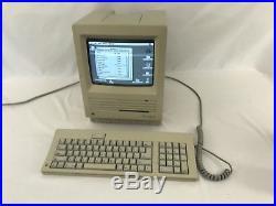 WORKING Vintage Apple Macintosh SE M5011 4MB RAM 80 MB SCSI HARD DRIVE