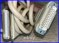 Working Apple Computer External SCSI Hard Disk Drive 80SC M2688 withCable
