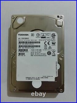 X10 AL13SEB900 Toshiba 900GB SAS 6Gb/s 10K 2.5 HDD Hard Disk Drive SERVER