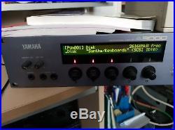 YAMAHA A3000 V2 SAMPLER 64mb memory. Scsi hard drive. Multicard reader. Discs